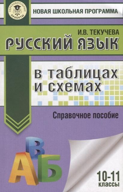 Текучева И. Русский язык в таблицах и схемах 10-11 классы Справочное пособие