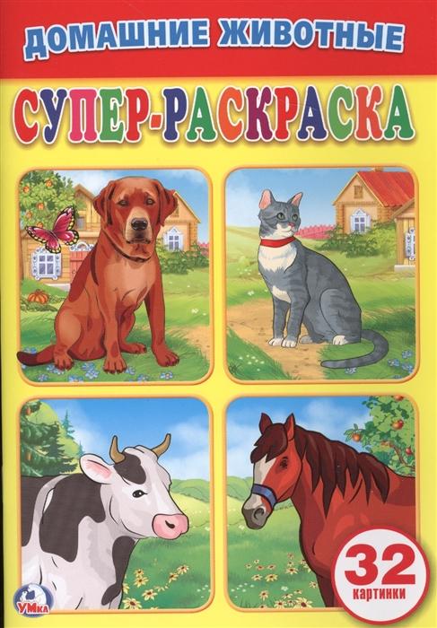 Козырь А. (ред.-сост.) Домашние животные Супер-раскраска цены онлайн