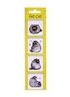 Магнитные закладки «Fat cat», 4 штуки