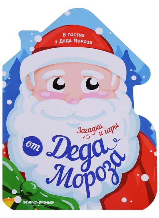 Сорудейкина Т. (илл.) Загадки и игры от Деда Мороза книжка-развивайка все цены