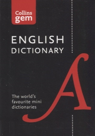Collins English Dictionary Gem Edition 85 000 words in a mini format collins italian dictionary