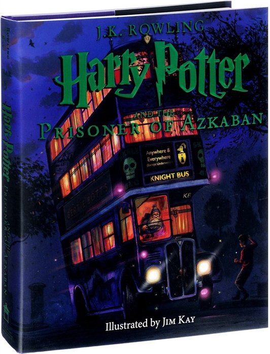 Rowling J. Harry Potter and the Prisoner of Azkaban printio prisoner of azbakan