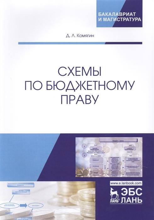 Схемы по бюджетному праву Учебное пособие