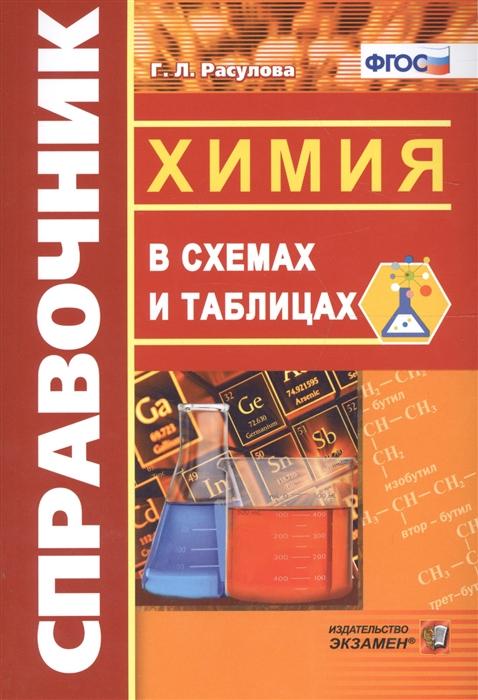 варавва н химия в схемах и таблицах Расулова Г. Справочник Химия в схемах и таблицах