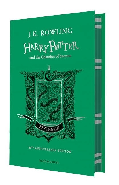 цена на Rowling J. Harry Potter and the Chamber of Secrets Slytherin