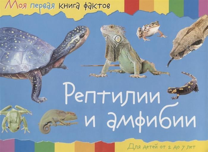Купить Рептилии и амфибии Для детей от 2 до 7 лет, НД Плэй, Первые энциклопедии для малышей (0-6 л.)