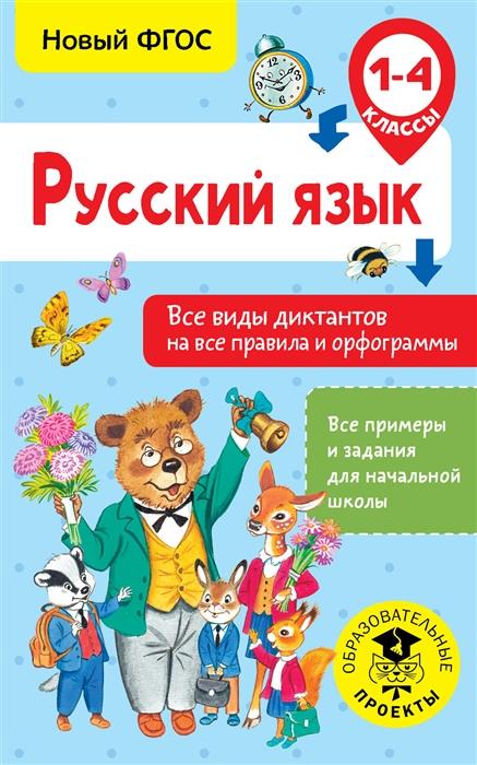 Анашина Н. Русский язык 1-4 класс Все виды диктантов на все правила и орфограммы цена