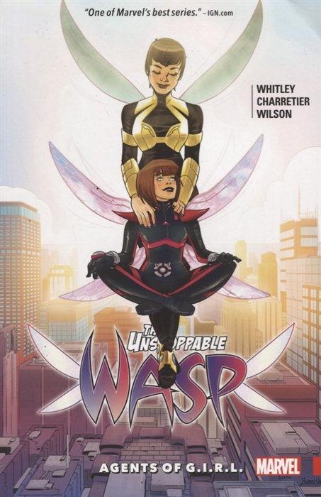 Whitley J. The Unstoppable Wasp Volume 2 Agents of G I R L banks i the wasp factory