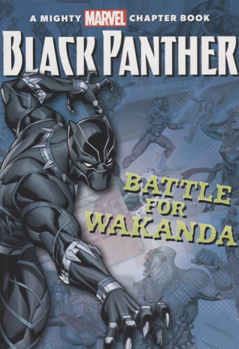 Snider B. Black Panther The Battle for Wakanda batman battle for the cowl