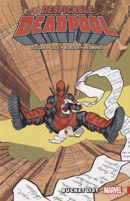цена на Duggan G. The Despicable Deadpool Volume 2 Bucket List