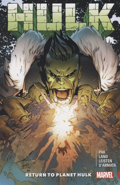 Pak G. Hulk Return to Planet Hulk