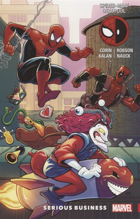 Corin J. Spider-Man Deadpool Volume 4