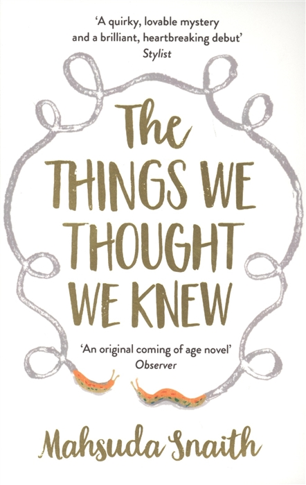 Snaith M. The Things We Thought We Knew snaith john collis the wayfarers