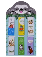 Магнитные закладки Sloth style (6шт)
