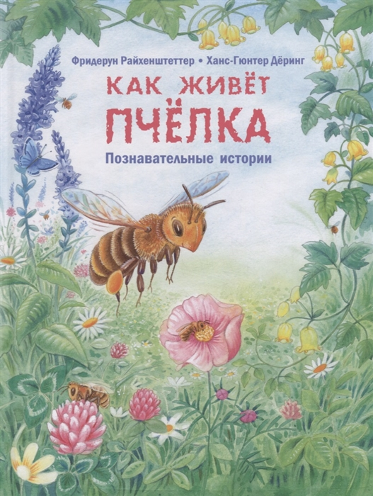 Райхенштеттер Ф. Как живет пчелка Познавательные истории райхенштеттер ф где живёт муравьишка познавательные истории