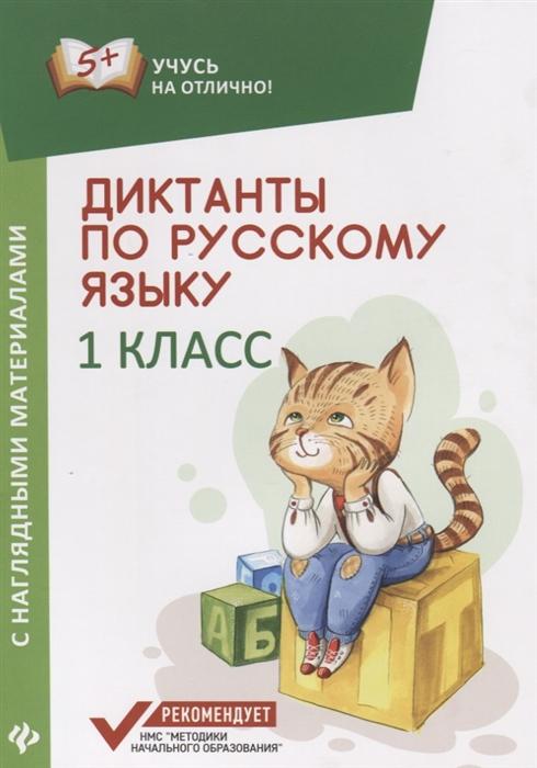 Бахурова Е. Диктанты по русскому языку с наглядными материалами 1 класс