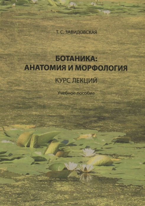 Ботаника анатомия и морфология Курс лекций Учебное пособие
