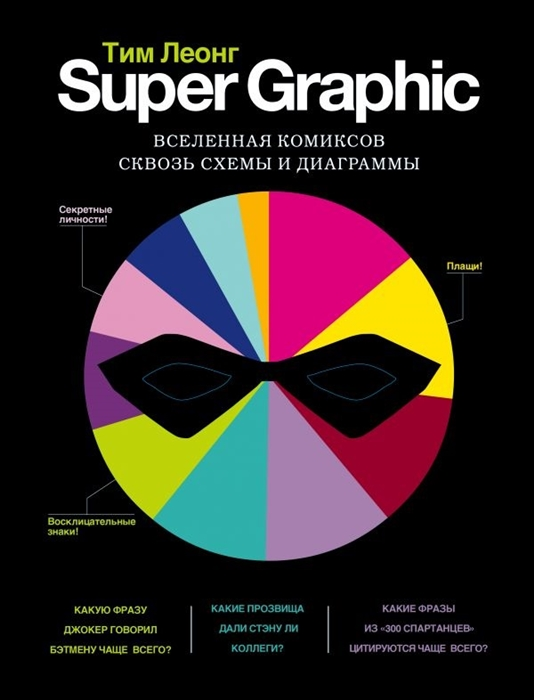 Леонг Т. Super Graphic Вселенная комиксов сквозь схемы и диаграммы