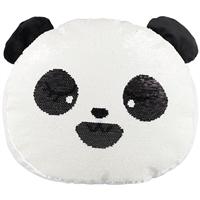Подушка с пайетками «Панда», 36 х 30 см