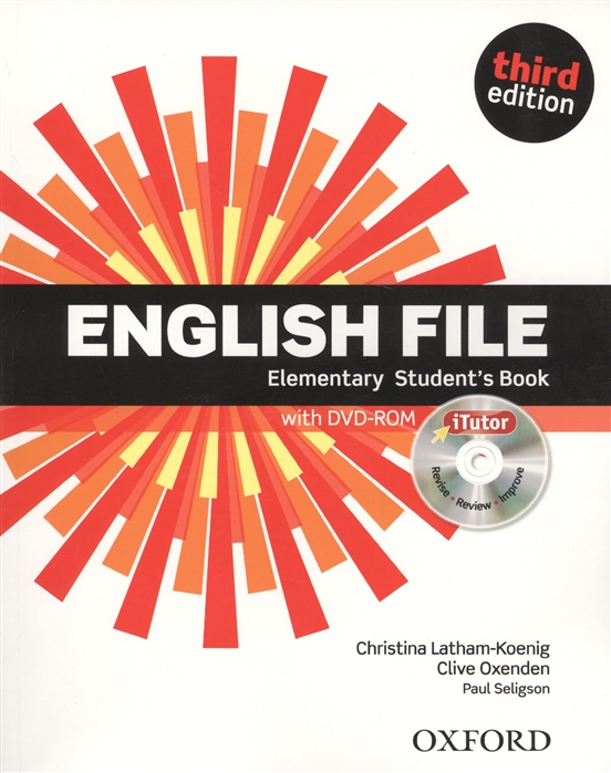 Latham-Koenig Ch., Oxenden C., Seligson P. English File Elementary Student s Book with DVD-Rom today level 3 teacher s book dvd rom