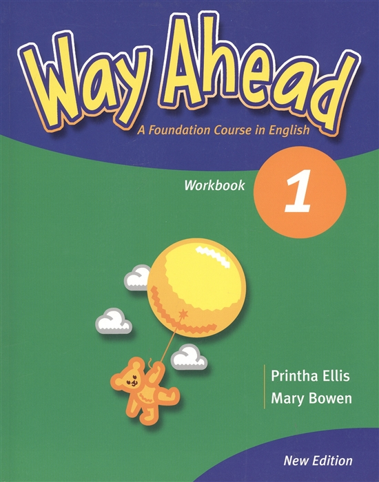 Ellis P., Bowen M. Way Ahead 1 A Foudation Course in English Workbook CD конверт на выписку супермамкет justcute совы зима флис бант