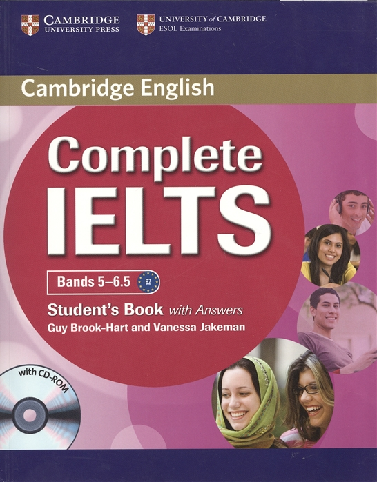 Brook-Hart G., Jakeman V. Complete IELTS Bands 5-6 5 Student s Book with Answers CD focus on academic skills for ielts student book 2 cd
