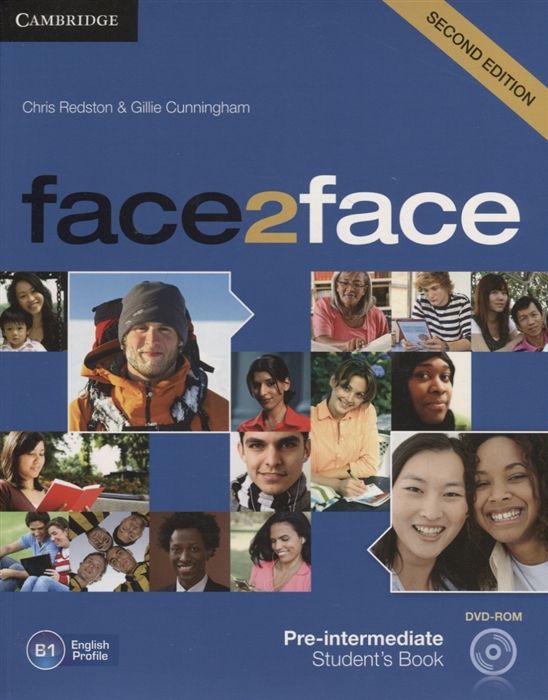 Redston C., Cunningham G. Face2Face Pre-intermediate Student s Book B2 DVD solutions pre intermediate student s book