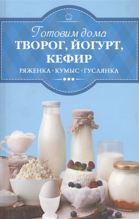 Готовим дома творог йогурт кефир ряженку кумыс гуслянку
