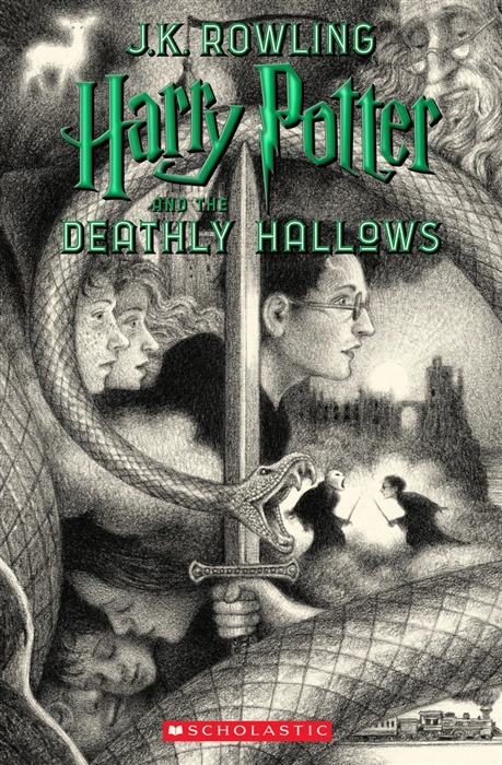 Rowling J. Harry Potter and the Deathly Hallows who is j k rowling