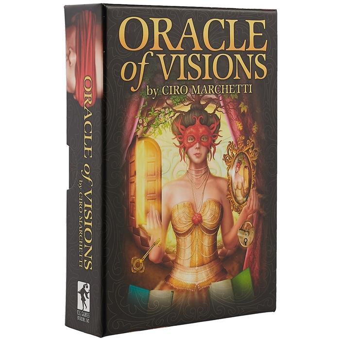 Ciro Marchetti Oracle of Visions Ciro Marchetti Оракул Видений Чиро Маркетти 52 карты инструкция цена