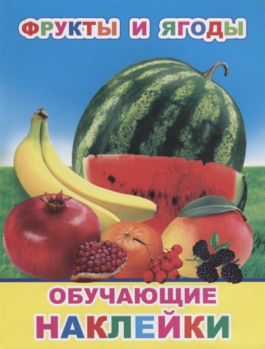 Фрукты и ягоды Обучающие наклейки мои первые наклейки фрукты и ягоды