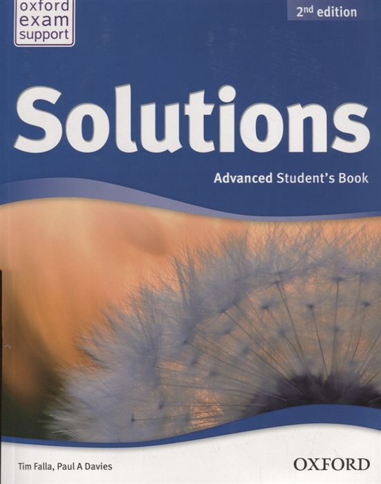 Solutions Advanced Student s Book