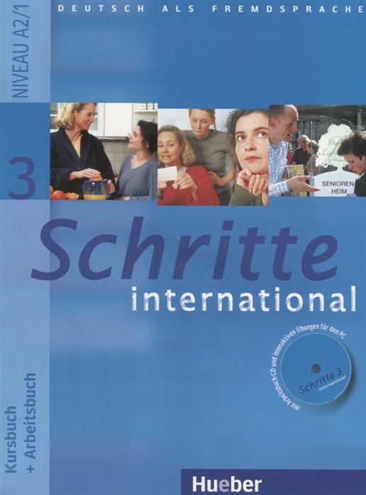 Roche J., Antoniadou C. Schritte 3 international Kursbuch Arbeitsbuch Niveau A2 1 CD planet 1 arbeitsbuch