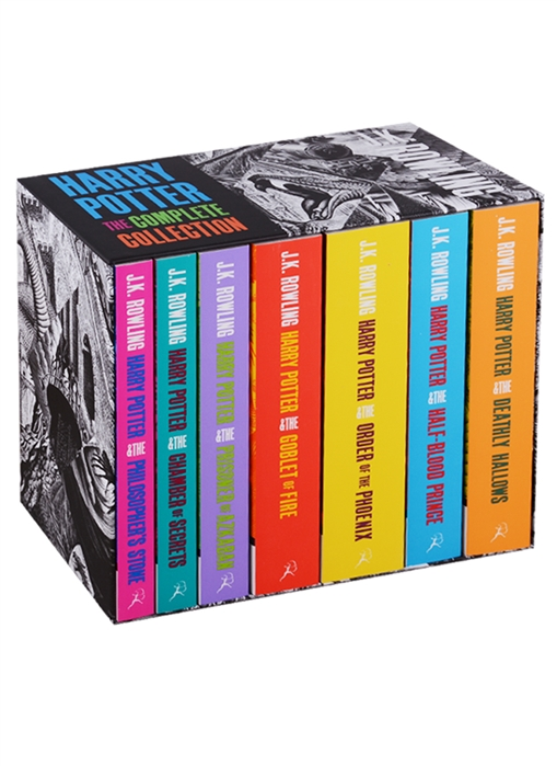 Rowling J. Harry Potter The Complete Collection комплект из 7 книг серия complete and unabridged комплект из 8 книг