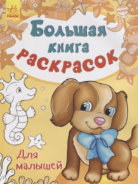 Каспарова Ю. (ред.) Большая книга раскрасок Для малышей fenix комплект раскрасок для малышей