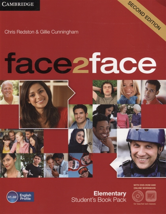 Redston C., Cunningham G. Face2Face Elementary Student s Book Pack A1-A2 DVD Online Workbook redston c cunningham g face2face elementary student s book pack a1 a2 dvd online workbook