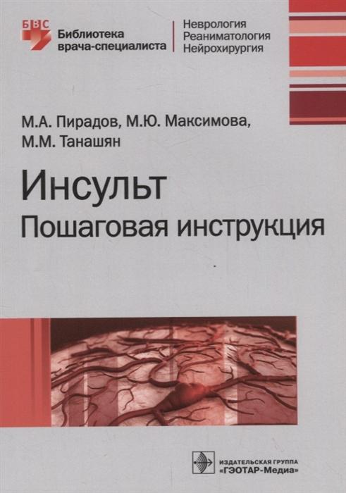 Пирадов М., Максимова М., Танашян М. Инсульт Пошаговая инструкция no name inbrick 765 м 04 765