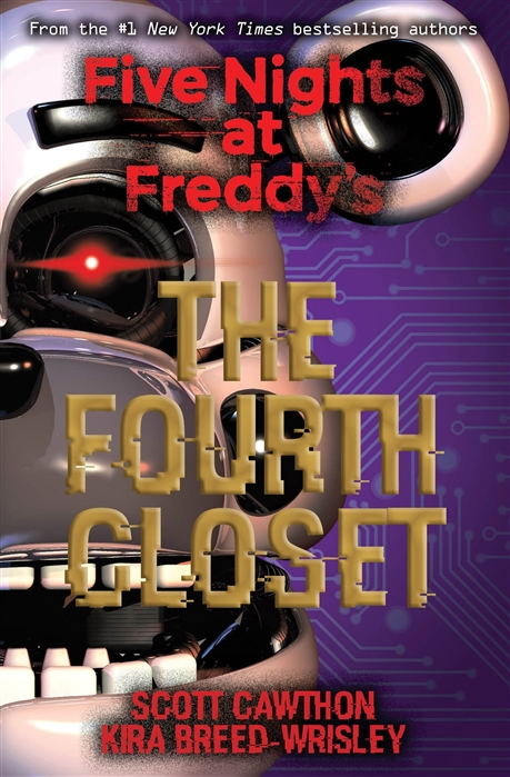 цена Cawthon S., Breed-Wrisley K. Five Nights at Freddy s The Fourth Closet онлайн в 2017 году