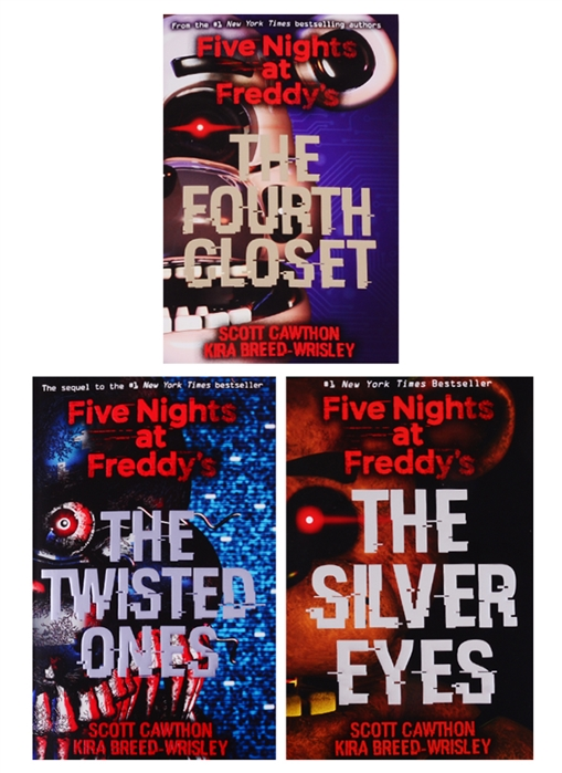 Cawthon S. Five Nights at Freddy s Collection комплект из 3 книг nick hornby collection комплект из 6 книг