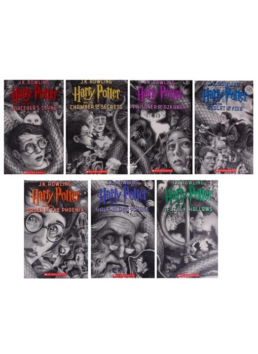 Rowling J. Harry Potter The Complete Series комплект из 7 книг серия complete and unabridged комплект из 8 книг