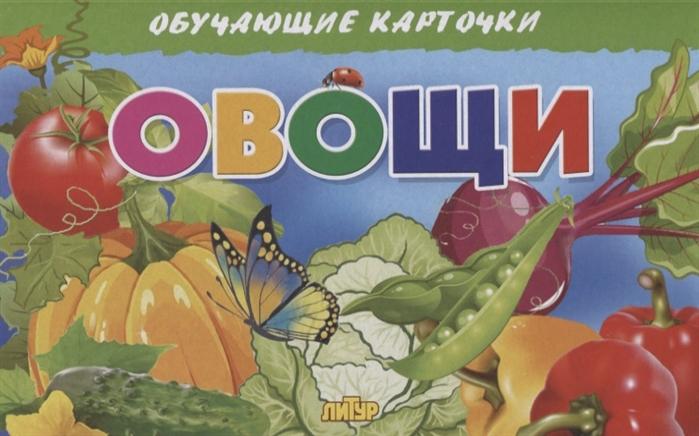Глушкова Н. (худ.) Овощи Обучающие карточки