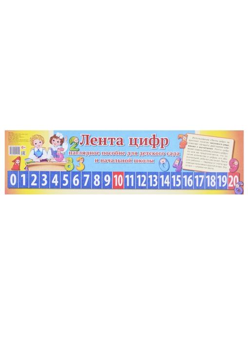 Лента цифр Наглядное пособие для детского сада и начальной школы лента чисел наглядное пособие