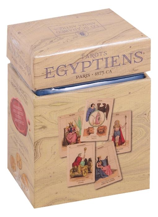 Tarot Egyptiens Египетское Таро Эттейлы Лимитированное издание 78 карт мультиязычкая инструкция цена
