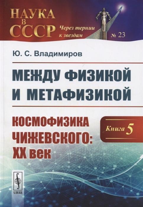 Владимиров Ю. Между физикой и метафизикой Книга 5 Космофизика Чижевского ХХ век