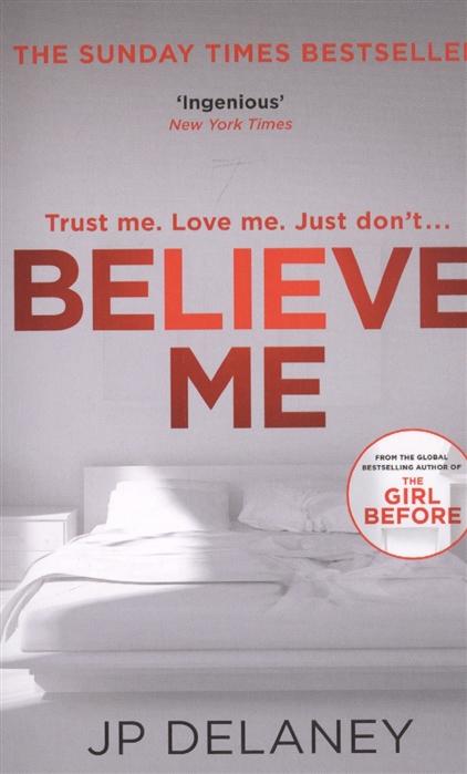 Delaney JP Believe Me delaney jp the girl before