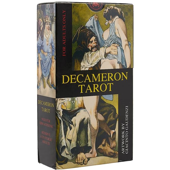 Decameron Tarot 78 карт руководство
