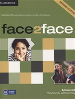 Face2Face 2Ed Advanced. Work book without key. C1