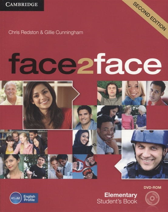 Redston C., Cunningham G. Face2Face Elementary Student s Book A1-A2 DVD face2face elementary workbook without key