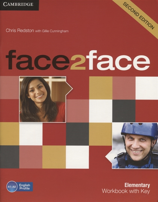 Redston C., Cunningham G. Face2Face Elementary Workbook with Key A1-A2