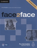 Face2Face. Pre-Intermediate Teacher's Book (B1) (+DVD)
